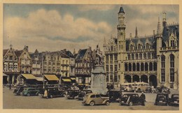 Brugge, Bruges, Grote MArkt, Standbeeld Breydel En De Coninck (pk54592) - Brugge