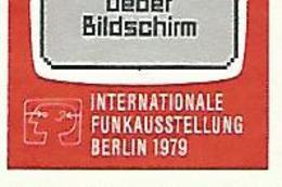 * 1979 N° 561 EXPOSITION INTERNATIONALE DE RADIOTÉLÉVISION  OBLITÉRÉ TB - [5] Berlin