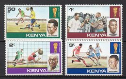 KENYA  Timbres Neufs ** De 1978   (ref 6001 ) Sport - Fotball - Kenya (1963-...)