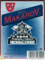 Ancienne Étiquette VODKA MAKAROV - Etiquettes