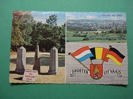 Vaals - Aken - Grenze - Grens - Kelmis - Drie / Vierlanderblick - Aachen - Neutral Gebiet - Moresnet - Vaals