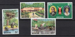 KENYA  Timbres Neufs ** De 1977   (ref 6002 ) Visite De La Reine Elisabethl - Kenya (1963-...)