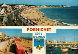 Dep 44 , Cpm PORNICHET , Cote D'Amour , VC 10 , Multivues  (D09.4419) - Pornichet