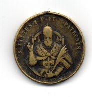 RedD - 300° Ritrovamento Resti Di San Sisto I 1884 . Moneta Coniata Da SIRLETTI - Gettoni E Medaglie