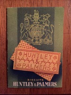 "Ancien Petit Calendrier 1938 "" Biscuits HUNTLEY & PALMERS "" - Illustré - Calendar - Calendars"