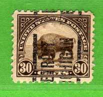 (Us2) USA °- 1922-25 - 30 C.  Yvert. 244 Type A - D.11  USED.  Vedi Descrizione - United States