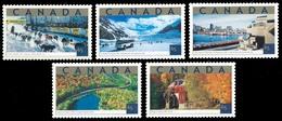 Canada (Scott No.1952 - Attractions Touristique / Tourist Attractions) [**] Set - 1952-.... Reign Of Elizabeth II