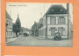 CPA - SENONCHES - Rue Louis Peuret - Voiture Ancienne Auto - France