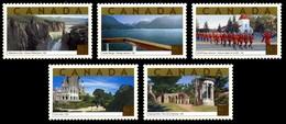 Canada (Scott No.1989 - Attractions Touristique / Tourist Attractions) [**] Set - 1952-.... Règne D'Elizabeth II