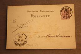 ( 2419 ) GS DR  P 5 I / 02    Gelaufen    -   Erhaltung Siehe Bild - Allemagne