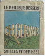 Sac Papier Ch.GERVAIS Petits Suisses - Pubblicitari
