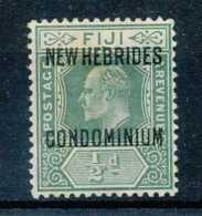 [800097]Colonies Françaises, Nouvelles Hébrides 1911, N° 20, 1/2p Vert, */mh - Nouvelles-Hébrides