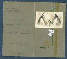 °°° Santino - Ricordo Della Cresima E Prima Comunione Roma 20 Aprile 1947 °°° - Religion & Esotericism