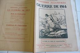 37-Histoire Illustrée Guerre 1914 -Fort Liège Embourg Chaudfontaine Flémalle Loncin Barchon Fléron Pontisse Liers Lantin - Tijdschriften & Kranten
