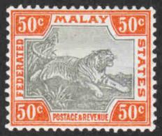 Malaya - Scott #25b MH - Federated Malay States - Federated Malay States