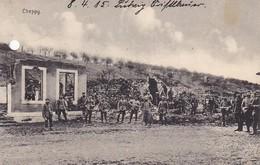 AK Cheppy - Deutsche Soldaten Und Ruinen - Feldpost Ers. Inf. Baon Ausgburg - 1915 (38995) - Verdun
