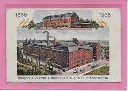 MARCHIENNE-AU-PONT: BROUWERIJ-BRASSERIE-1836-1936 - Charleroi