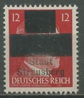 Strausberg (bei Berlin) 1945 Hitlerausgabe Mit Aufdruck 3 Postfrisch - Allemagne