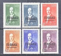 RUSSIAN  OCCUP.  FINLAND  KARALIA  N 22-27  ** - 1919 Occupation: Finland