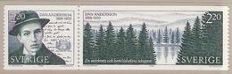 Sweden 1988 100th Birthday Of Dan Andersson, Trees, Sea, Mi 1508-1509 In Pair  MNH(**) - Schweden