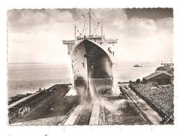 """Lancement Du Paquebot """"France"""" Mai 1960- (C.9186) - Steamers"""