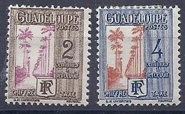 180031046  GUADALUPE  FR  YVERT  TAXE  Nº   25/9  */MH - Impuestos