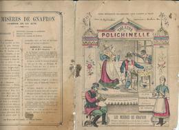 Protège- Cahier -POLICHINELLE - GNAFRON - Buvards, Protège-cahiers Illustrés