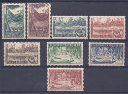 180031048  GUYANA  FR  YVERT  Nº   201/9  (EXCEPT Nº 202)  **/MNH - Guayana Francesa (1886-1949)