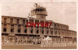 Carte Postale Photo De KANO (Nigéria-Afrique) Airport-Tour Contrôle De L'aéroport-Aviation-Avion - Nigeria