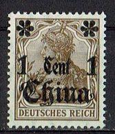 China 1906/1919 // Mi. 38 I * - Deutsche Post In China