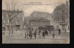 11-002....QUILLAN - France