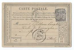 3073 Carte Précurseur Sage Dreux Mer Loir Et Cher 41 Martin - 1877-1920: Période Semi Moderne