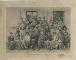 PHOTO SCOLAIRE - Collège Mixte De MANOSQUE - 1955/1956 - Photos