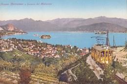 CPA : Stresa (Italie) Borromeo Ferrovia Del Mottarone    Ed Brunner Et Co 204-85 - Italia