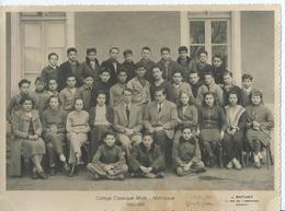 PHOTO SCOLAIRE - Collège Classique Mixte De MANOSQUE - 1953/1954 - Photos