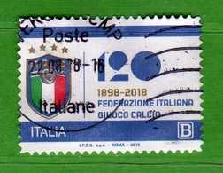 Italia ° -  2018 - FEDERAZIONE ITALIANA GIUOCO CALCIO .  Usato  .    Vedi Descrizione - 1946-.. République