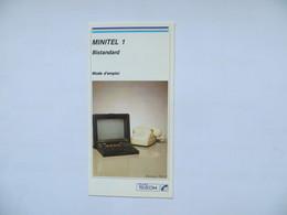France TELECOM - Téléphone Et Minitel Mode D'emploi - Machines