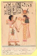 EGITTO - EGYPTE - Egypt - 1903 - 10c Mouchon - Seti I Reçois Un Collier De La Dèesse Hathor - Viaggiata Da Paris Per Féc - Egitto