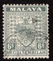 Malaya - Negri Sembilan - Scott #25A Used - Federation Of Malaya - Negri Sembilan