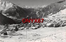 Carte Postale Photo De VERBIER (Suisse-Valais)  Vue Du Village-Timbre-Stamp- Flamme Philatélique - VS Valais