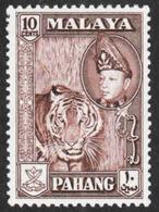Malaya - Pahang - Scott #77 MH - Federation Of Malaya - Pahang