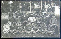 Cpa Carte Photo Etats Unis Washington St Mary's Mission 1913 Fanfare Band Jazz   YN55 - Altri