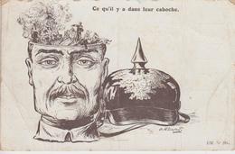CPA Illustrateur Gournay - Ce Qu'il Y A Dans Leur Caboche - Otros Ilustradores