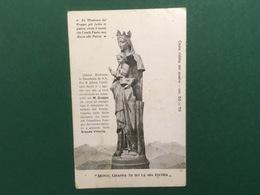 Cartolina Monte Grappa Tu Sei La Mia Patria - La Madonna Del Grappa - 1919 - Postcards