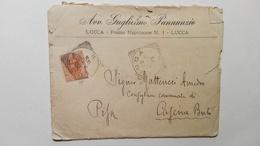 1900 - Lettera Accettazione Di Una Causa Da Parte Di Un Avvocato - Manoscritti
