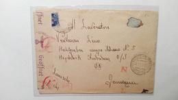 1936 - Busta A Prigioniero Di Guerra In Campo Di Lavoro In Germania - Marcophilia