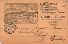 CPA MOUNIER-LEGLENE - 56 Rue Sebastien-Gryphe - LYON - Lyon