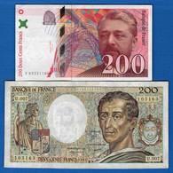 200  Fr  2  Billets - Non Classés