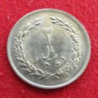 Iran 2 Rials 1982 / SH 1361 KM# 1233  Lt 523  Irão Persia Persien - Iran