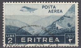 ERITREA - Posta Aerea:  Yvert 24 Usato, Come Da Immagine. - Eritrea